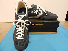 Converse Navy/ White Nylon Trainer 75 Ox Shoes Sneakers 13 Mens, 14.5 Womans