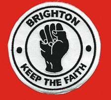 NORTHERN SOUL FIST BRIGHTON KEEP THE FAITH PATCH