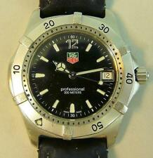 GENTS TAG HEUER 2000 SERIES WK11100 PROFESSIONAL 200M WRISTWATCH
