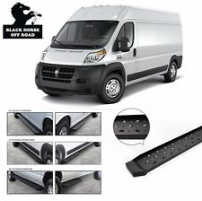 """Commercial Running Boards [Fits 2014 2015 2016 Dodge Promaster 159"""" Wheel Base]"""