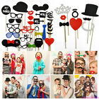 New DIY Photo Booth Props Moustaches On A Stick Wedding Birthday Party Christmas