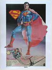 SUPERMAN POSTER Thought Factory 1977 DC