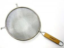 Winco Strainer with Double Fine Mesh, 8-Inch Diameter, MS3A-8D, New
