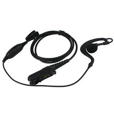 G-shape Earpiece Mic Headset PTT for Motorola MTP3100/3150 XPR 3300/3500 Radio a