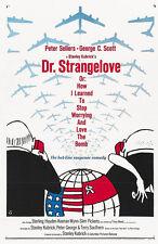 24X36Inch Art DR. STRANGELOVE Movie Poster Stanley Kubrick RARE Print P43