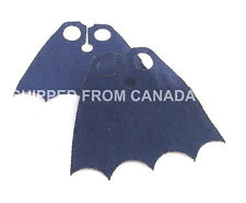 2pcs NVY BLUE cape Custom clothing cloak accessory LEGO Batman Robin Superman DC