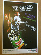 The Big Moon Glasgow 2014 concert tour gig poster