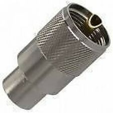 PL259 Coax Plugs (7mm for Mini-8 coax) (pack of 10)  coaxial antenna plug