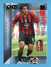 CALCIO CARDS 2005 Panini - Figurina/Sticker -n. 113 - GATTUSO - MILAN -New