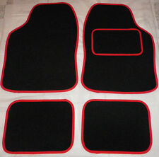 Car Mats Black and Red trim mats for VW beetle Golf Polo Bora Passat Lupo