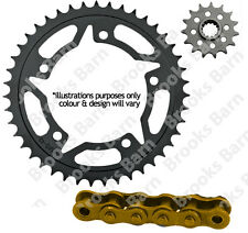 For BMW F800 GS Adventure 13 Gold 525 X-Ring Chain (17/42 Sprocket) Kit