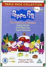 PEPPA PIG TRIPPLE BOXSET - CHRISTMAS COLLECTION - NEW / SEALED DVD - UK STOCK