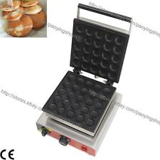 Commercial Nonstick Electric Dutch Poffertjes Mini Pancake Baker Maker Machine