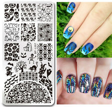 BORN PRETTY Nail Art Stamping Template Halloween Pumpkin Style Image Plate L057