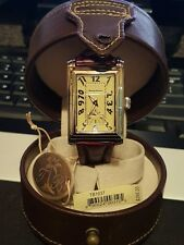 Tommy Bahama TB1037 Sterling Silver Men's Watch With Tags (Crocodile Band)
