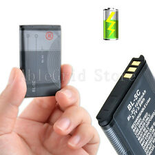 Replacement Battery for Nokia BL-5C 1616 X2-01 5130 2330 CLASSIC 1020mAh BL5C