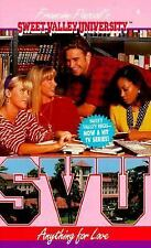 Anything for Love (Sweet Valley University(R)) Pascal, Francine Mass Market Pap