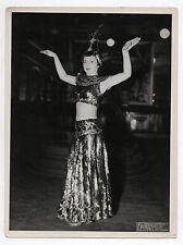 Photo Ancienne Photonub ? Paris Danseuse du ventre Mains Danse orientale ?