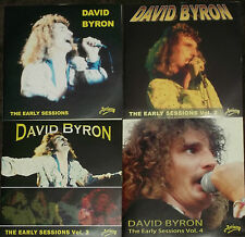 DAVID BYRON of URIAH HEEP AVENUE RECORDS EARLY SESSIONS Volumes1, 2, 3 & 4 - NEW