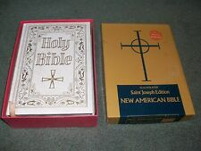 The New American Bible Saint Joseph Edition; Excellent Condition in Original Box