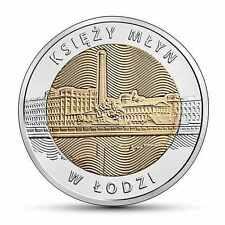5 zloty Discover Poland - Księży Młyn in Łódź New 2016 Poland  ( in capsule )