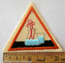 Girl Scout Brownie 1986-1998 SCIENCE WONDERS MAGIC TRY-IT Experiment Patch Badge