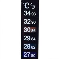 Digital LCD Thermometer Strips Aquarium Fish Tank Home Wine Making  Qty = 5 off