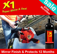 X1 Car Polish Shine and Seal Best Car Polish In The World - Free Prof Microfibre