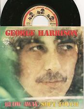 "GEORGE HARRISON italian 7"" 45 BLOW AWAY from 1979, Beatles related"