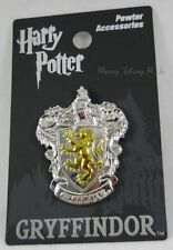 New Harry Potter Gryffindor Crest Shield Pewter Lapel Pin Or Necklace Pendant