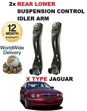 FOR JAGUAR X TYPE 2001- NEW 2 x REAR AXLE LOWER FRONT TRACK CONTROL IDLER ARM