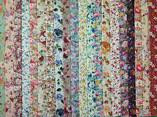 24 JELLY ROLL STRIPS 100% COTTON PATCHWORK FABRIC SPRING FLOWERS 22 INCH LONG