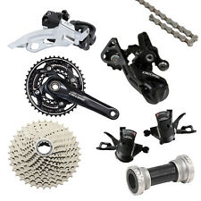 Shimano Deore M610 Groupset 7pcs 30 Speed Mountain Bike Derailleur Shifter Crank