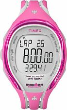 Timex Women's T5K591 Ironman Pink 250-Lap Resin Digital Watch