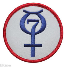 Mercury Mission Program Embroidered Patch (Official NASA Patch) 7.5cm Dia approx