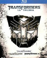 TRANSFORMERS La Trilogia BOX 3 BLURAY Come Nuovo.