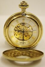 Gold Plated Mens Mechanical Pocket Watch - MP00713-01# S/N PLO-005322 # PL-1313