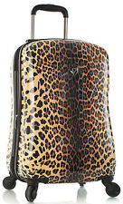 "Heys America Luggage Leopard Panthera 21"" Expandable Carry On Spinner"