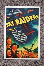 Sky Raiders Lobby Card Movie Poster 12 Thrill-Powered Chapters