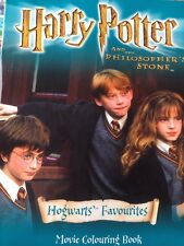 Harry Potter and the Philosopher's Stone: Hogwarts' Favourites: Colouring Book