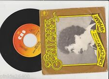 ♫ SANTANA ♫ WOne Chain ( don't make no prison)  ♫  45 tr 1978  CBS 6798. 7''