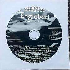 ENGELBERT HUMPERDINCK KARAOKE CDG DISC BACKSTAGE KARAOKE OLDIES MUSIC CD+G