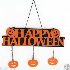 Halloween 3D Pumpkin Citrouille Banner Guirlande Ghost Suspendu Décor Ornament