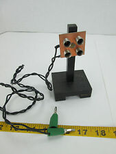 Four Lamp Signal Light Test Electric Science Fair Experiments Lab School T