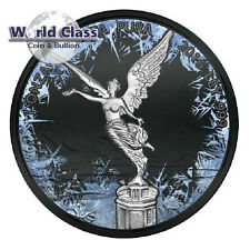 2016 Mexico Deep Frozen Edition Libertad 1oz Ruthenium BU Silver Coin