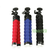 For Gopro Camera / SLR / DV Mini Flexible Tripod Bubble Octopus Stand Pod