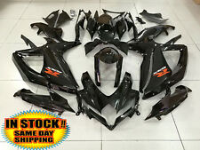 Gloss Black Injection Fairing Complete Kit for Suzuki GSXR 600 750 2008-2010 09