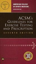 ACSM's Guidelines for Exercise Testing and Prescription American College of Spo