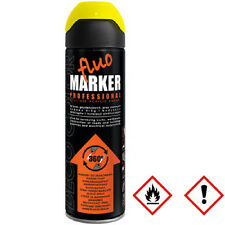 1 x 500ml gelb Markierungsspray Markierfarbe Lack Sprühlack Spraydose 14 510