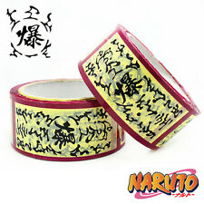 NARUTO Cosplay Costume paper tape Shredded tape logo